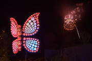 """Fireworks seen during the Netflix Premiere of Dolly Parton's """"Heartstrings"""" on October 29, 2019 in Pigeon Forge, Tennessee."""