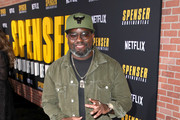 Lil Rel Howery attends the Netflix Premiere Spenser Confidential at Westwood Village Theatre on February 27, 2020 in Westwood, California.
