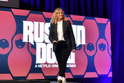 """Amy Poehler onstage at the Netflix """"Russian Doll"""" FYSEE Event at Raleigh Studios on June 09, 2019 in Los Angeles, California."""