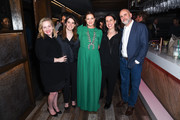 "Jane Wiseman, Brittney Segal, Drew Barrymore, Tracy Katsky and  Victor Fresco attend Netflix's ""Santa Clarita Diet"" Season 3 Premiere at Hollywood Post 43 on March 28, 2019 in Los Angeles, California."