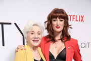 """(L-R) Olympia Dukakis and Jen Richards attends Netflix's """"Tales of the City"""" New York Premiere at The Metrograph on June 03, 2019 in New York City."""