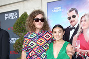"""(L-R) Blake Anderson and guest attend the Netflix World Premiere Of """"Murder Mystery"""" at Village Theatre Westwood on June 10, 2019 in Los Angeles, California."""