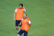 Arjen Robben and Daley Blind Photos Photo