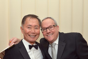 Actor George Takei (L) and Brad Altman attends Neuro at 21st Annual Elton John AIDS Foundation Academy Awards Viewing Party at Pacific Design Center on February 24, 2013 in West Hollywood, California.