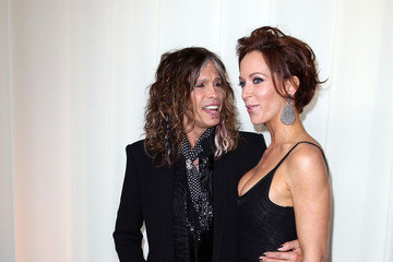 Steven Tyler Erin Brady Neuro Drinks At 20th Annual Elton John AIDS Foundation Academy Awards Viewing Party