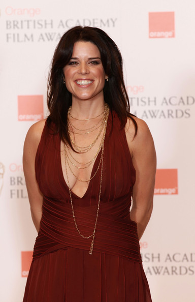 Neve Campbell Neve Campbell poses during the Orange British Academy Film Awards at The Royal Opera House on February 13, 2011 in London, England.