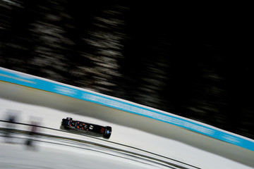 Neville Wright BMW IBSF Bobsleigh + Skeleton World Cup