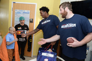 New England Patriots Players Surprise Patients At Boston Children's Hospital
