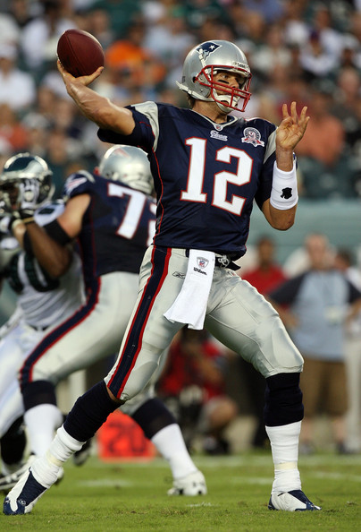 Tom Brady in New England Patriots v Philadelphia Eagles ...