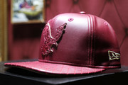 Ghostface Killah custom collaboration with New Era Cap 2017 Complex Con Ambassador Collab lounge with A$AP Ferg, Mike Will Made-IT, Jerry Lorenzo, Takashi Murakami, and Ghostface Killah at Long Beach Convention Center on November 5, 2017 in Long Beach, California.