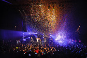 New Kids On The Block perform at Gramercy Theatre on February 15, 2015 in New York City.