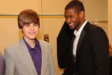 Usher Justin Bieber New Look Foundation Holds First Annual World Leadership Awards