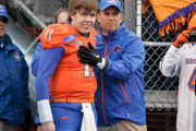 Kellen Moore Chris Petersen Photos Photo