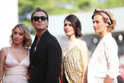 "Ludivine Sagnier, Jude Law,  Yulia Snigir, Cecile De France walk the red carpet ahead of ""The New Pope"" screening during the 76th Venice Film Festival at Sala Grande on September 01, 2019 in Venice, Italy."