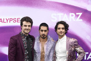 (L-R) Beau Mirchoff, Avan Jogia, Tyler Posey attend the 'Now Apocalypse' Los Angeles Premiere at Hollywood Palladium on February 27, 2019 in Los Angeles, California.