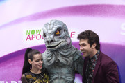 (L-R) Roxane Mesquida, Beau Mirchoff, attend the 'Now Apocalypse' Los Angeles Premiere at Hollywood Palladium on February 27, 2019 in Los Angeles, California.