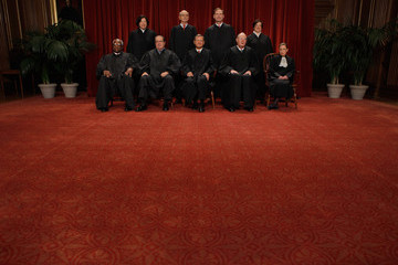 "John Roberts ( Sonia Sotomayor New U.S. Supreme Court Poses For ""Class Photo"""