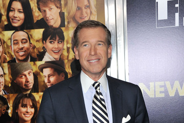 """Brian Williams """"New Year's Eve"""" New York Premiere - Inside Arrivals"""