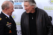 General Martin E. Dempsey and Musican Roger Waters attend The New York Comedy Festival And The Bob Woodruff Foundation Present The 7th Annual Stand Up For Heroes Event at The Theater at Madison Square Garden on November 6, 2013 in New York City.
