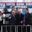 Tom Coughlin and Michael Bloomberg Photos