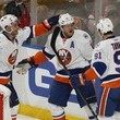 Frans Nielsen and Kyle Okposo Photos