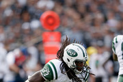 Chris Ivory #33 of the New York Jets in action against the Oakland Raiders at O.co Coliseum on November 1, 2015 in Oakland, California.