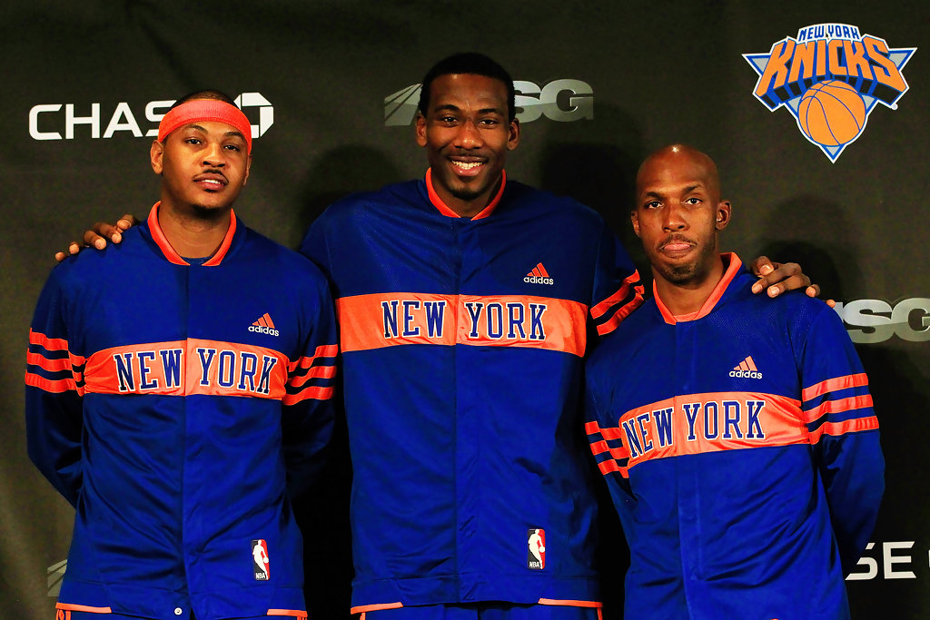 Amare Stoudemire And Carmelo Anthony Photos Photos New York Knicks