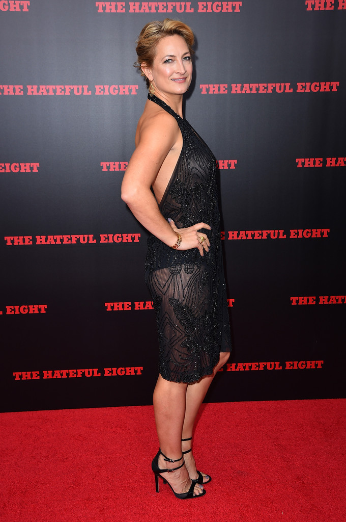 Zoe Bell in The New York Premiere of 'The Hateful Eight ...