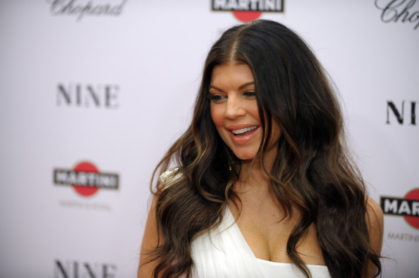 Singer Fergie attends the New York premiere of