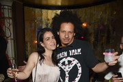 Abbi Jacobson anad Eric Andre attend New York Premiere of Sony's ROUGH NIGHT After Party presented by SVEDKA Vodka at Diamond Horseshoe on June 12, 2017 in New York City.