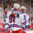Rick Nash and Chris Kreider