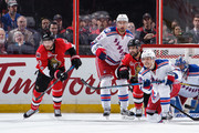 Dan Girardi and Jesper Fast Photos Photo