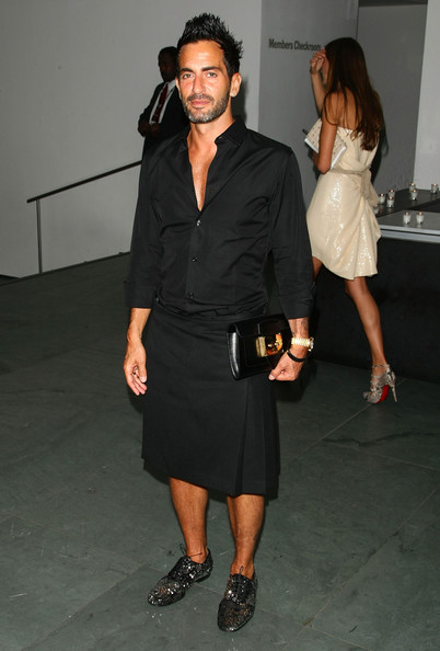 "Designer Marc Jacobs attend attends the New York special screening of ""The September Issue"" at The Museum of Modern Art on August 19, 2009 in New York City."