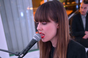 Diane Birch performs at the Speaker Dinner presented by Mercedes-Benz during The New York Times International Luxury Conference at the Moore Building on December 1, 2014 in Miami, Florida.