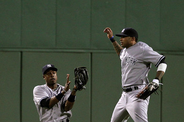 Darnell McDonald New York Yankees v Boston Red Sox - Game Two