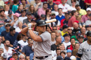 Matt Holiday #17 of the New York Yankees stands at home plate during the sixth inning of a game against the Boston Red Sox at Fenway Park on July 15, 2017 in Boston, Massachusetts. The Yankees won 4-1 in sixteen innings.