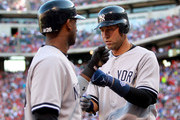 Derek Jeter Eduardo Nunez Photos Photo