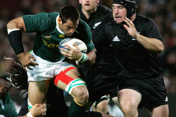 Ma'a Nonu Andrew Hore New Zealand v South Africa - 2009 Tri Nations