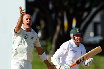 Chris Martin (cricket player) New Zealand v South Africa - 3rd Test: Day 5