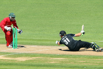 Tatenda Taibu New Zealand v Zimbabwe - 3rd One Day International