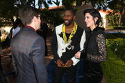 (L-R) Topher Grace, Colman Domingo and Mary Elizabeth Winstead attend the Newport Beach Film Festival Fall Honors and Variety's 10 Actors To Watch at The Resort at Pelican Hill on November 11, 2018 in Newport Beach, California.