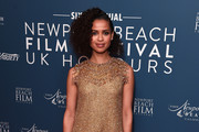 Gugu Mbatha-Raw attends the Newport Beach Film Festival UK Honours 2020 at The Langham Hotel on January 29, 2020 in London, England.