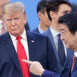 Donald Trump and Shinzo Abe Photos