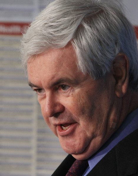 newt gingrich images. Newt Gingrich Discusses Health