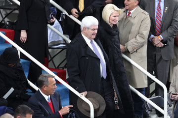 Newt Gingrich Donald Trump Is Sworn In As 45th President Of The United States