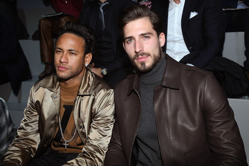 Neymar JR Louis Vuitton : Front Row - Paris Fashion Week - Menswear F/W 2018-2019