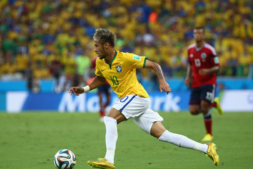 Neymar Brazil v Colombia: Quarter Final - 2014 FIFA World Cup Brazil