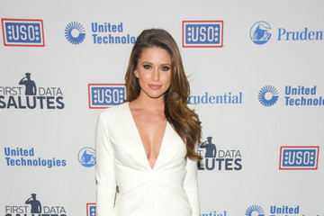 Nia Sanchez 54th USO Armed Forces Gala and Gold Medal Dinner
