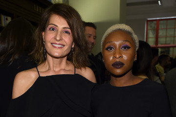 """Nia Vardalos Christian Siriano Celebrates The Release Of His Book """"Dresses To Dream About"""" At The Rizzoli Flagship Store In New York"""