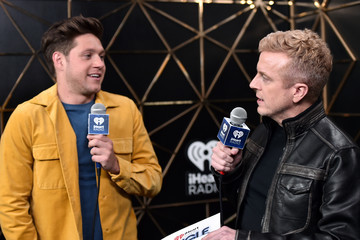 Niall Horan JoJo Wright 102.7 KIIS FM's Jingle Ball - PRESS ROOM